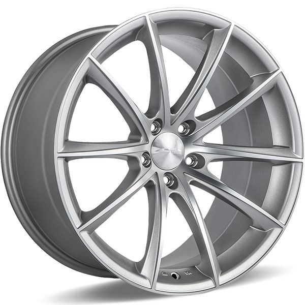 Ace Alloy Convex D704 Matte Silver with Machined Face
