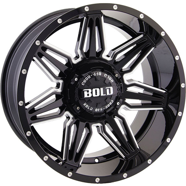 Bold BD001 Gloss Black Milled