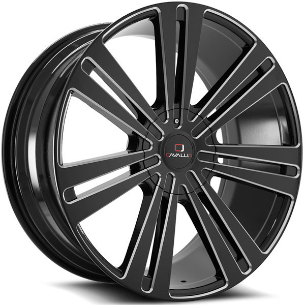 Cavallo CLV-16 Gloss Black Milled