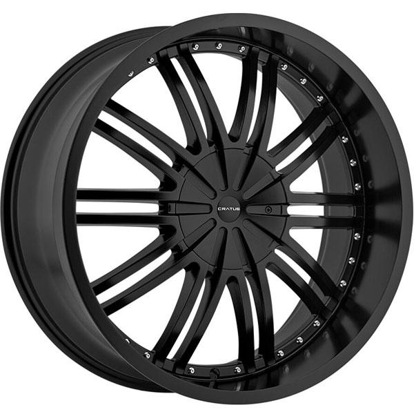 Cratus CR008 Flat Black