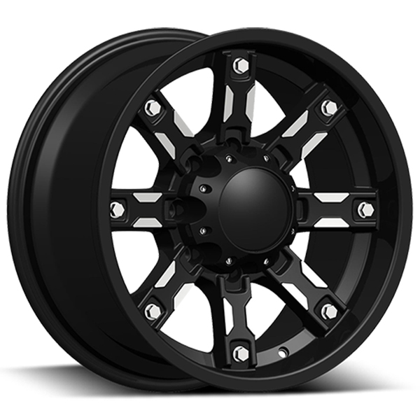 DCenti DW970 Black with Machined Face