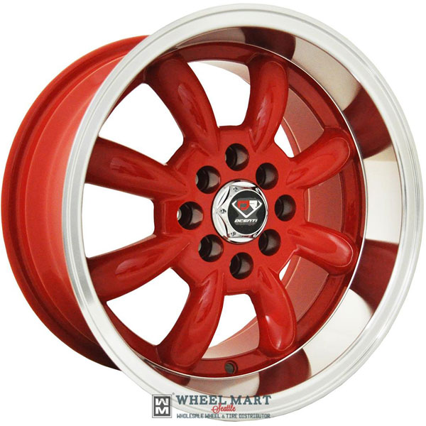 Dcenti Racing DCTL002 Red with Machined Lip