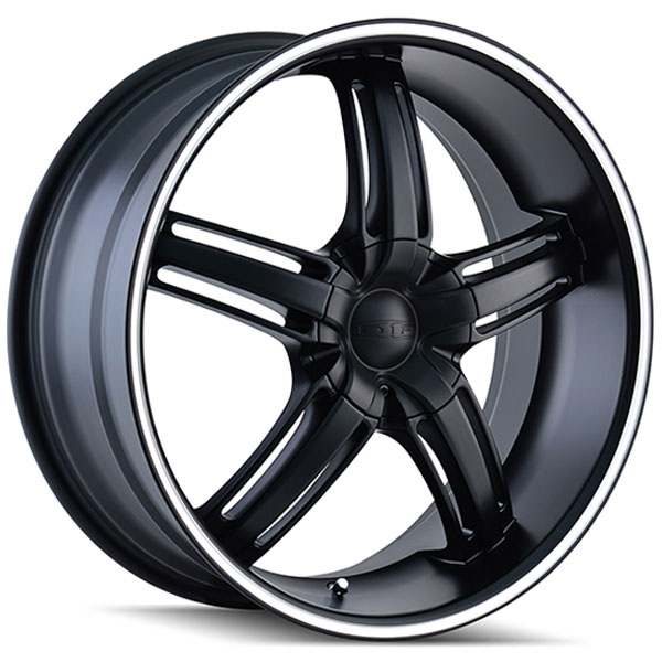 Dip D68 Ambush Matte Black with Machined Stripe