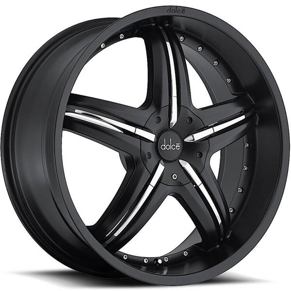 Dolce DC26 Black with Chrome Inserts