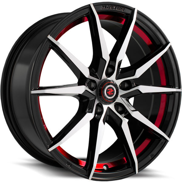 Drag Concepts R30 Gloss Black with Red Undercut