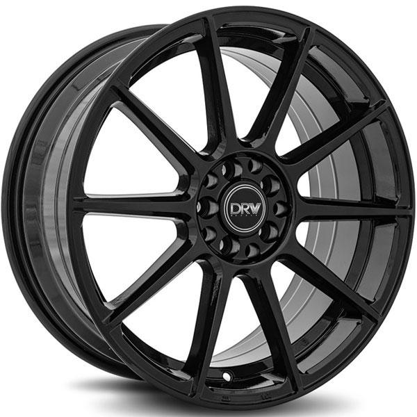 DRW D10 Gloss Black