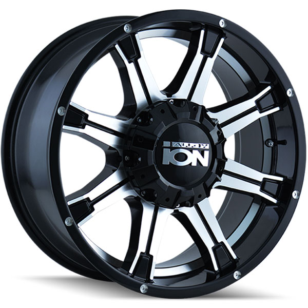Ion Alloy 196 Black with Machined Face