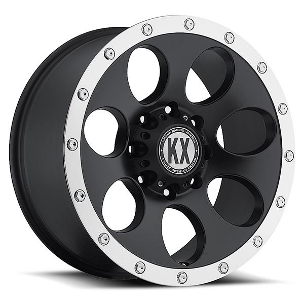 KX CP41 Matte Black with Machined Lip
