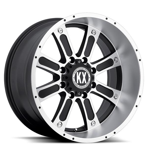 KX CP71 Matte Black Machined