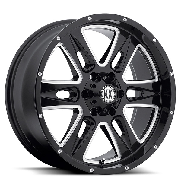 KX CP78 Gloss Black with Milled