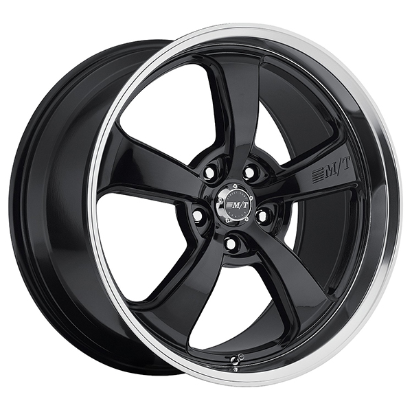 Mickey Thompson SC-5 Gloss Black with Machined Lip