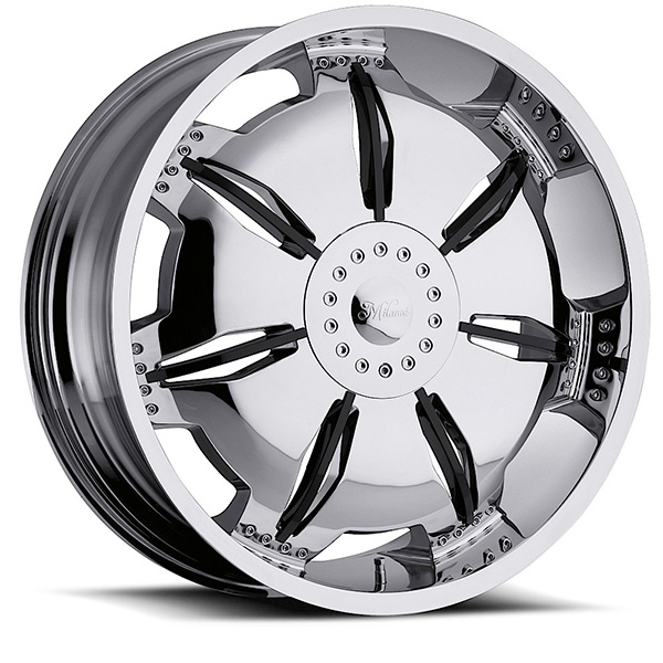 Milanni Paralyzer 455 Chrome with Black Inserts