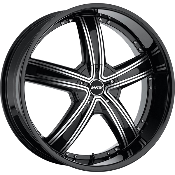 MKW M103 Black with Machined Face