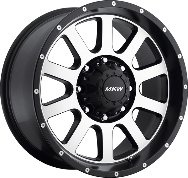 MKW M86 Satin Black with Machined Face 8 Lug
