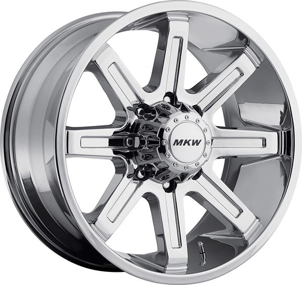MKW M88 Chrome 8 Lug