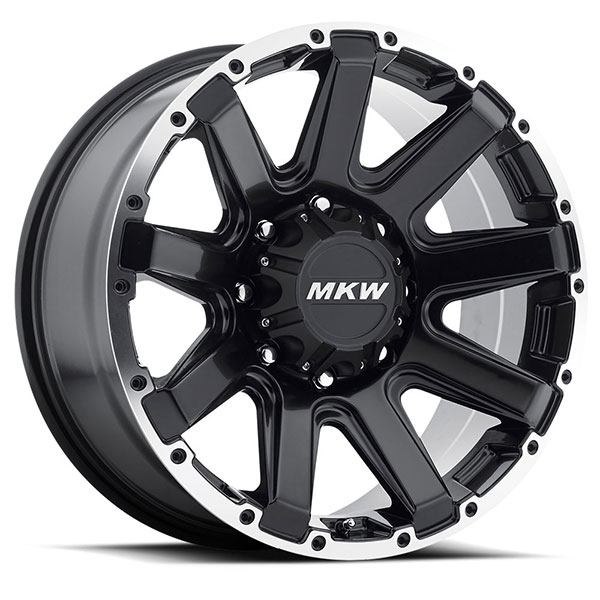 MKW M94 Satin Black with Machined Ring 8 Lug