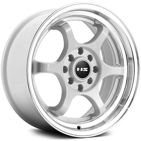 NS Series NS1202 White with Machined Lip