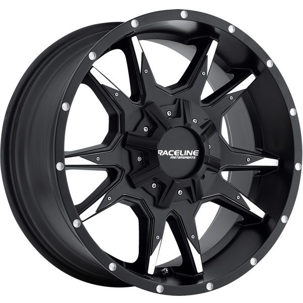 Raceline 912M Corba Black Machined