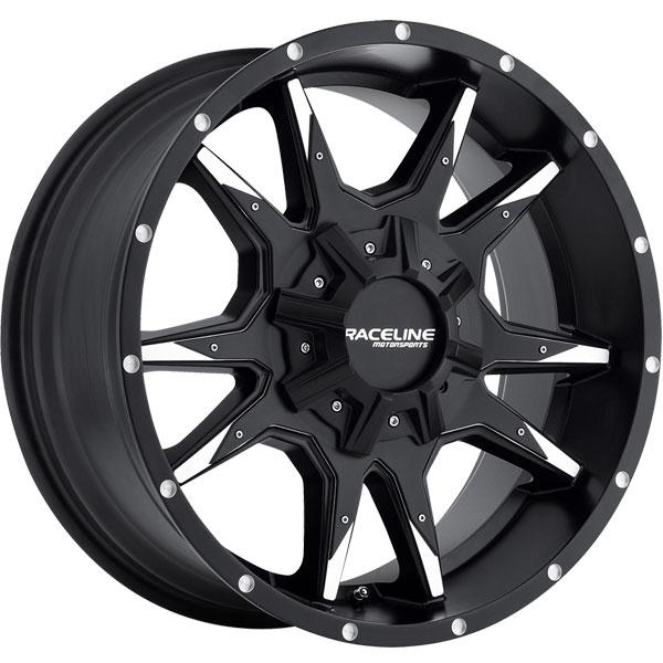 Raceline 912M Corba Black Machined