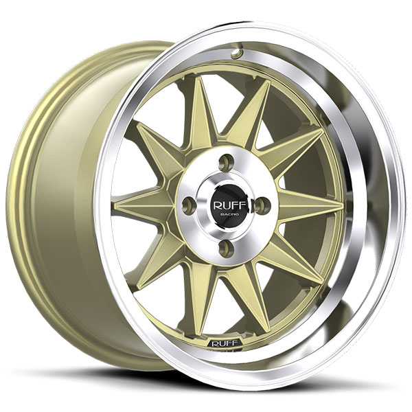 Ruff Racing R358 Gold with Chrome Lip