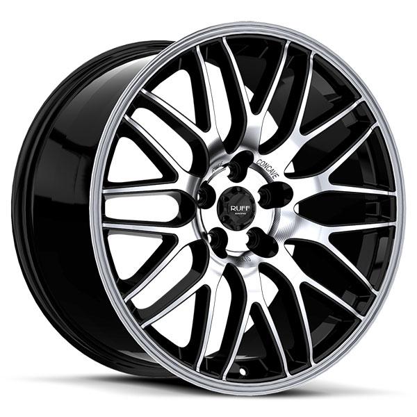 Ruff Racing R360 Gloss Black Machined