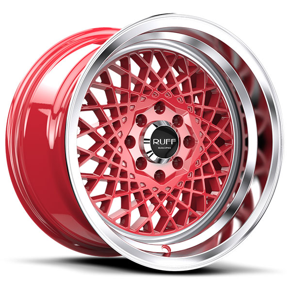 Ruff Racing R362 Red with Machined Lip