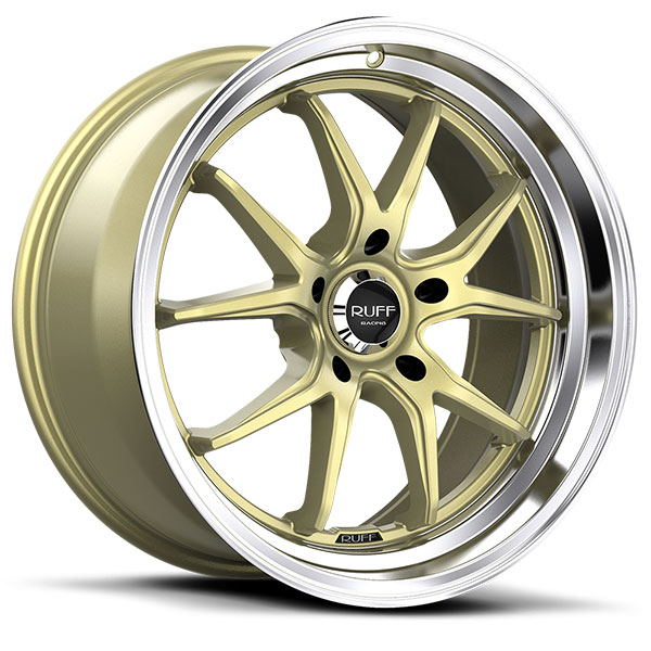 Ruff Racing R958 Gold with Machined Lip