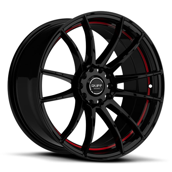 Ruff Racing R959 Satin Black with Red Undercut