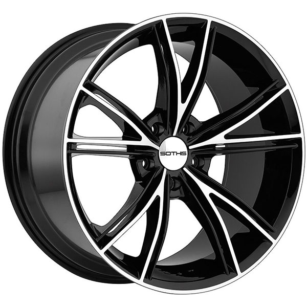 SOTHIS SC100 Gloss Black Machined
