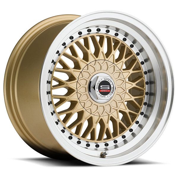 Spec-1 SP-3T Gold with Machined Lip