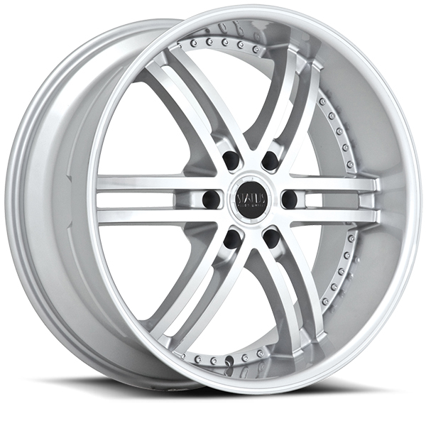 Status S817 Knight 6 Hyper Silver with Machined Face