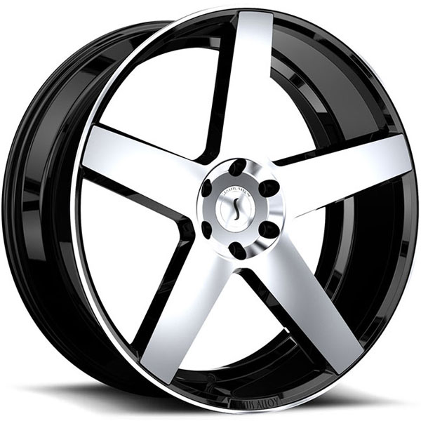 Status S839 Empire Gloss Black with Machined Face