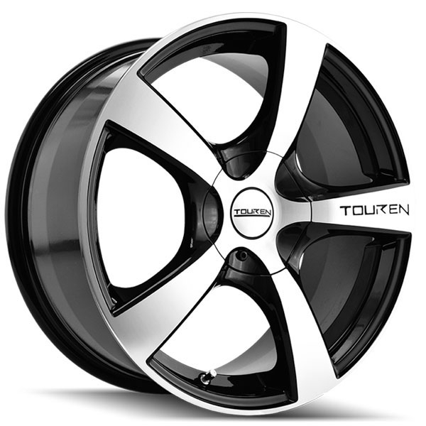 Touren TR9 Black with Machined Face