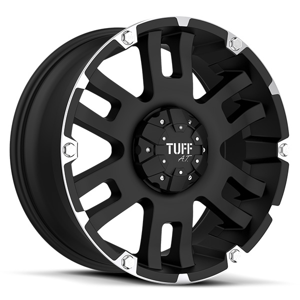 Tuff T04 Flat Black with Machined Flange
