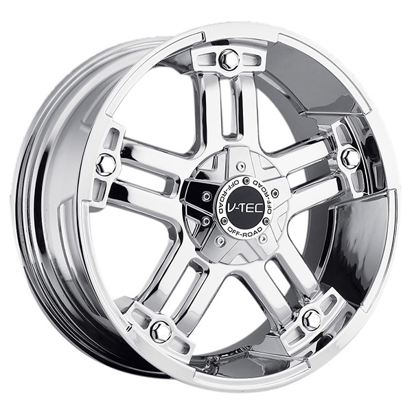 V-Tec 394 Warlord Chrome with Optional Cap