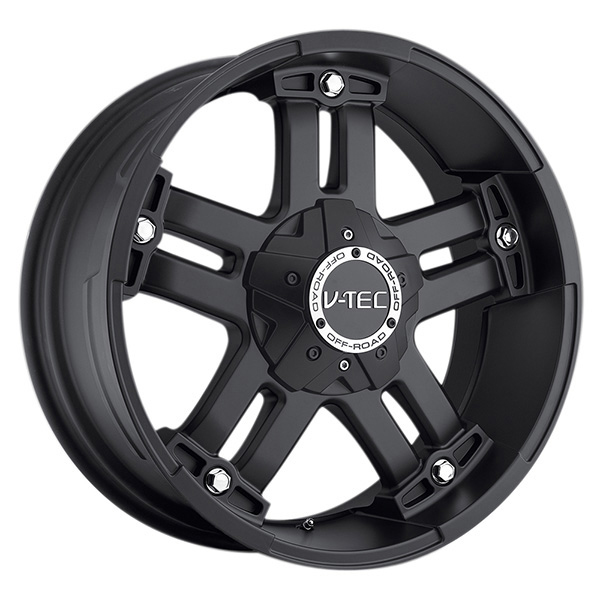 V-Tec 394 Warlord Matte Black with Optional Cap