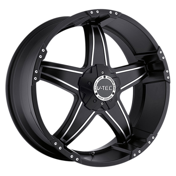 V-Tec 395 Wizard Matte Black with Machined Face and Optional Cap