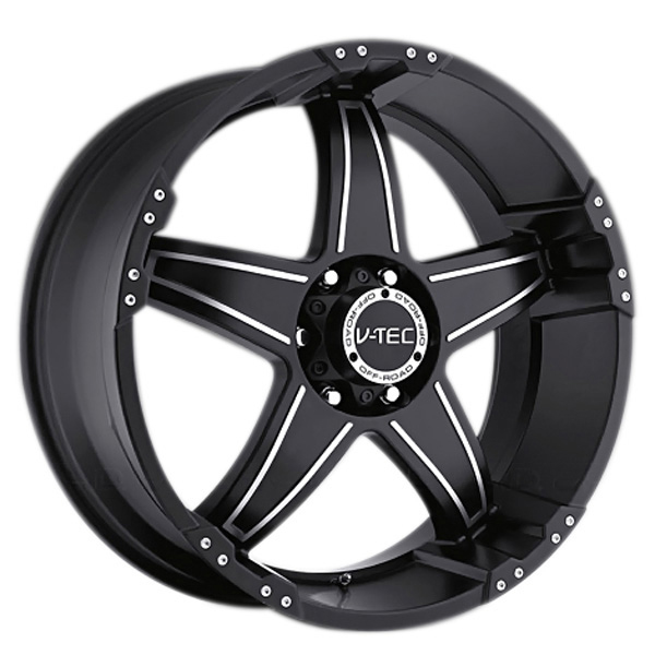 V-Tec 395 Wizard Matte Black with Machined Face