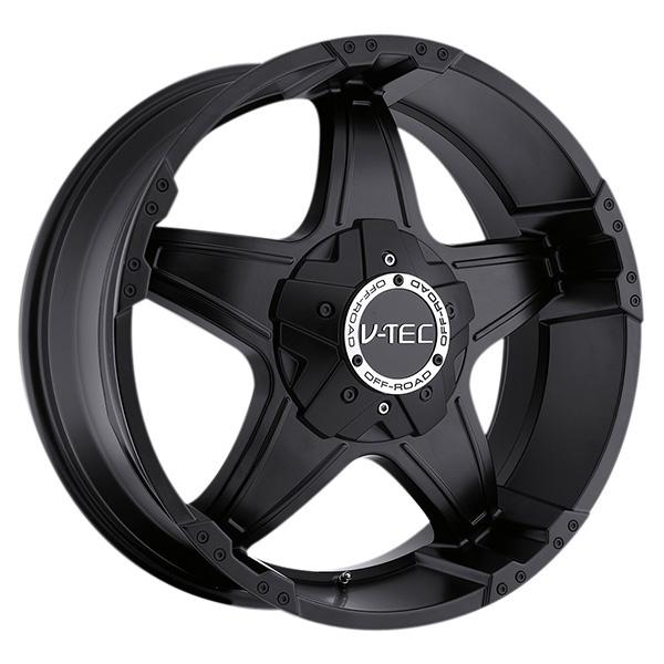 V-Tec 395 Wizard Matte Black with Optional Cap