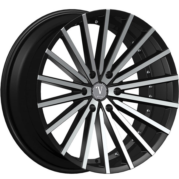 Velocity VW 17B Black with Machined Face