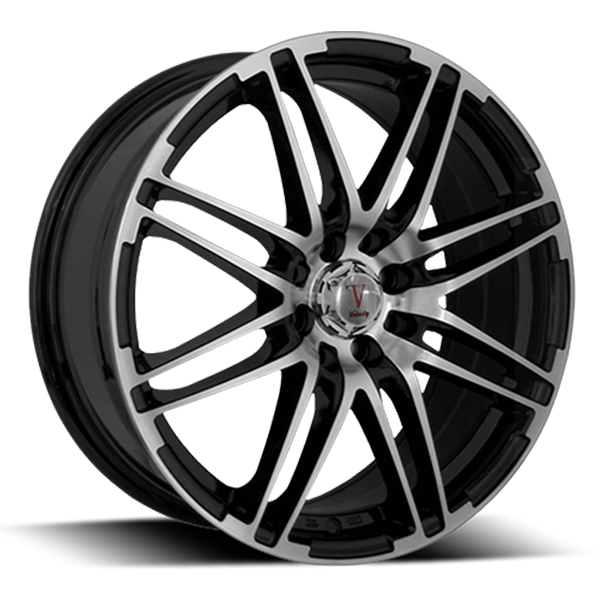 Velocity VW 287 Black with Machined Face