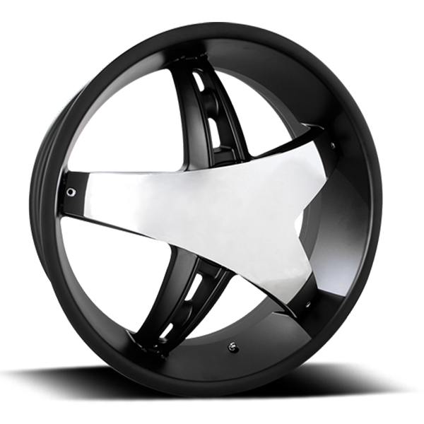Velocity VW 930C Black with Chrome Inserts
