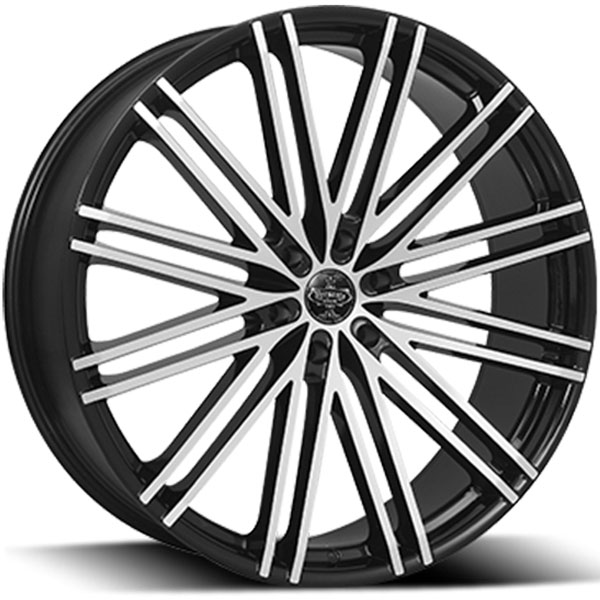 Versante 227 Black with Machined Face 6 Lug