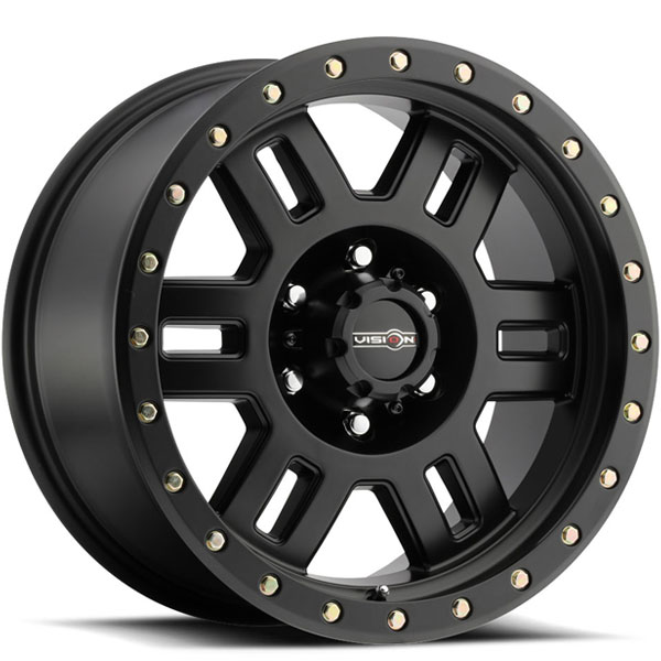 Vision 398 Manx Matte Black with Zinc Bolts