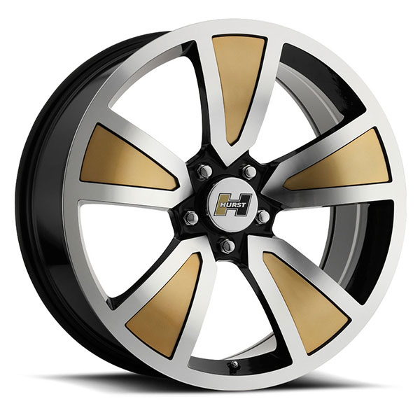 Vision HT326 Shaker Gold with Machined Face